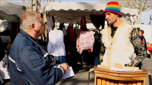 Un marché en Provence